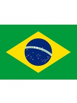 Brazil Flag - 5ft x 3ft