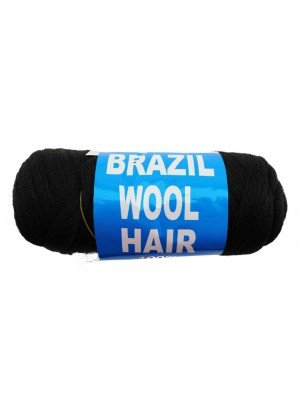 Wholesale Brazil Wool Hair 100% Acrylic Braids Knitting Yarn-80 gram