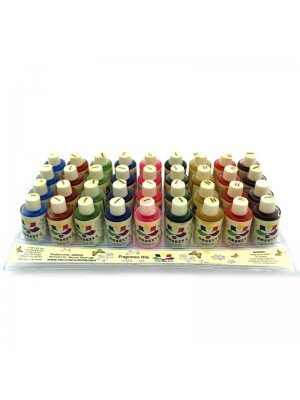 Wholesale Breezy Fragrance Oils (Tray of 36) - Floral Range