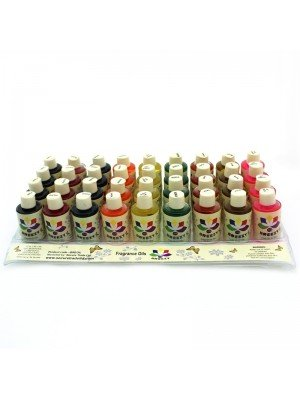 Wholesale Breezy Fragrance Oils (Tray of 36) - Spice & Exotic