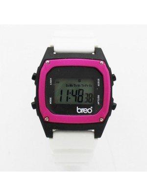 BreoTime Unisex Sports Watch - Black & White