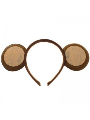 Brown Monkey ears on a Aliceband