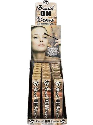 Wholesale W7 Brush On Brows Life-Proof Brow Gel