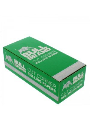 Bull Brand Cut Corner Green Rolling Papers