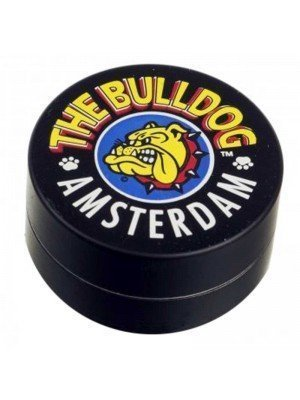 Wholesale 2-Part Metal Grinder The Bulldog - Black