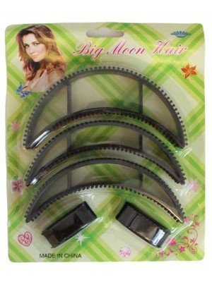 Wholesale Big Moon Hair Bun Making Set