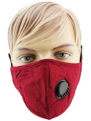 Wholesale Reusable Double Layered Cotton Mask With Valve