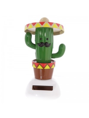 Cactus With Sombrero Solar Pal