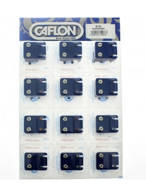 Caflon Blu White Claw Studs - Assorted Colours