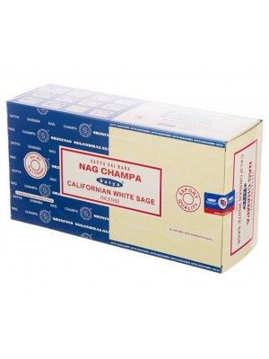 Wholesale Satya incense sticks - Nag Champa & Californian White Sage