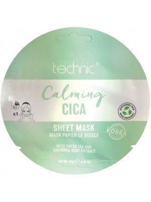 Wholesale Technic Calming Cica Sheet Face Mask
