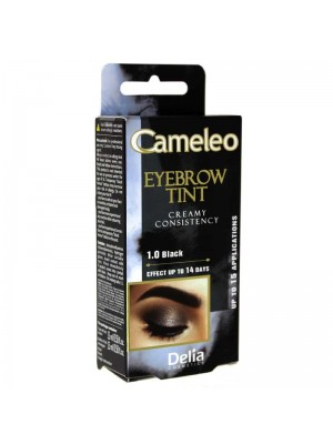 Wholesale Delia Cameleo Cream Eyebrow Henna Tint - 1.0 Black