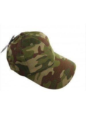 Baseball Cap - Green Camouflage