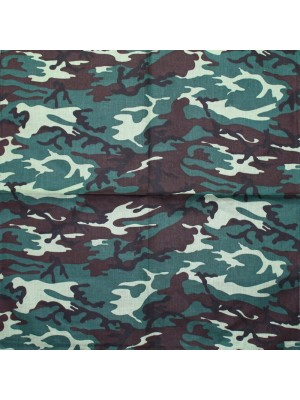 Camouflage Print Bandana