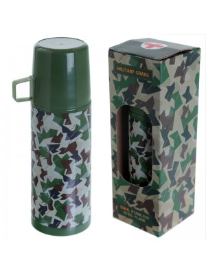 Camouflage Stainless Steel Flask - 20.5cm