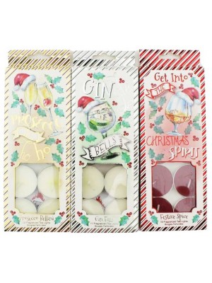 Wholesale Fragranced Tealight Candles - Assorted