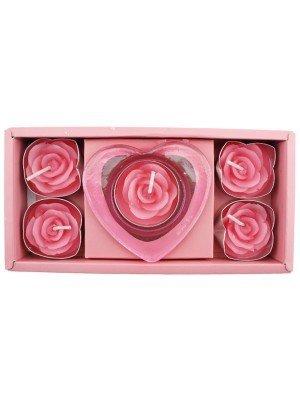 Mum in a Million Luxury Rose Tealight Set