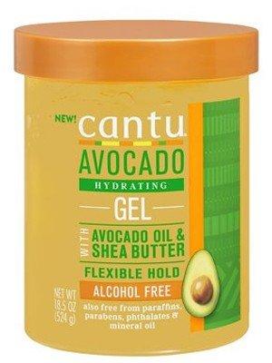 Cantu Avocado Oil & Shea Butter Hydrating Gel - 524g