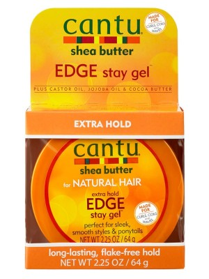 Wholesale Cantu Extra Hold Edge Stay Gel - (64 g)