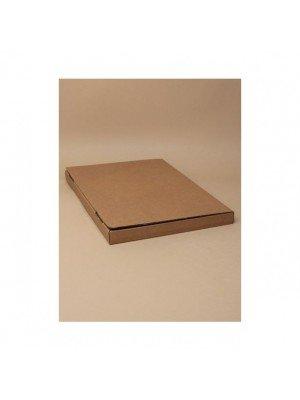 Brown Card Fold Flat Box - 28x20x2cm