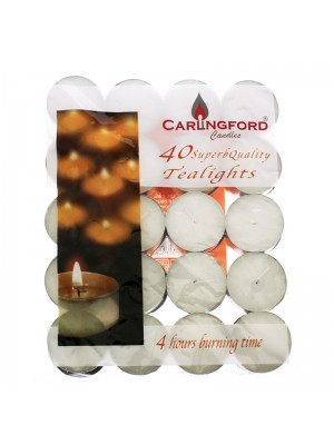 Wholesale Carlingford 40 Tealight Candles