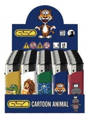 "Wholesale GSD Electronic ""Cartoon Animal"" Design Refillable Lighters"