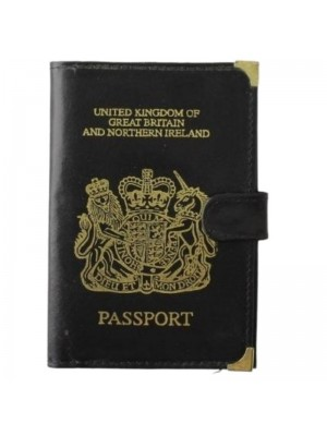 Wholesale Leather Passport Holder (Assorted Colours)