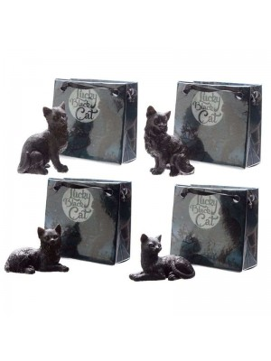 Wholesale Lucky Black Cat in Mini Gift Bag