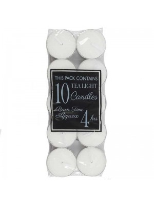 Tea Light Candles - 10 Candles