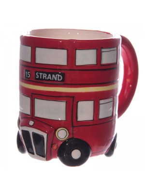 Ceramic Mug Round London Bus
