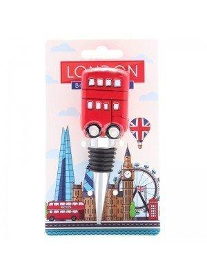 Ceramic London Icons Route Master Bus Bottle Stopper