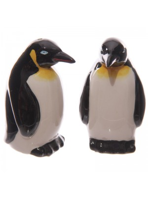 Ceramic Novelty Penguin Salt & Pepper Cruet Sets