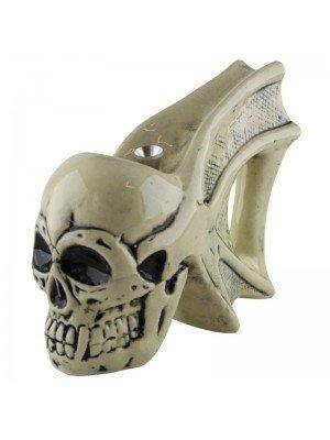 Wholesale Ceramic Skull Design W-Pipe