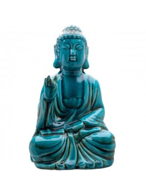 Ceramic Thai Buddha Figurine - 33cm