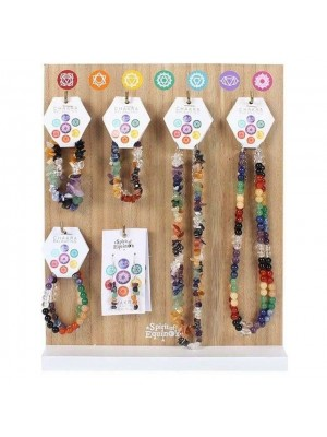 Wholesale Chakra Jewellery with Display Stand