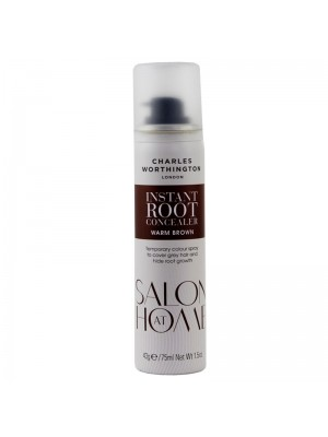 Wholesale Charles Worthington Instant Root Concealer Spray - Warm Brown