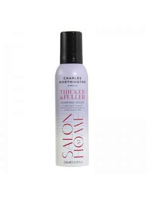 Charles Worthington Thicker & Fuller Densifying Mousse 200ml