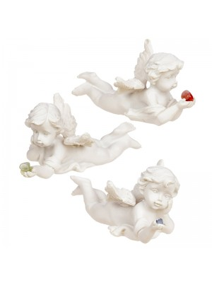 Wholesale Mineral Stone Cherub Lying