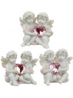 Wholesale Peace of Heaven Love Everlasting Cherubs Figurine