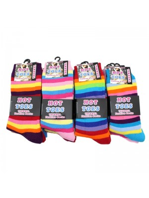 Children Hot Toes Fashion Socks - Assorted Colours