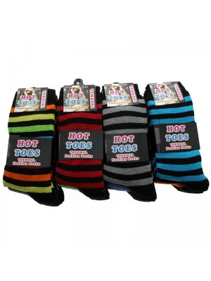 Children Hot Toes Fashion Socks - Dark Assortment