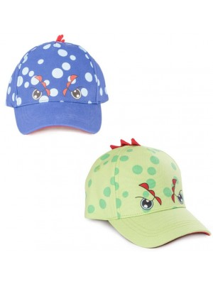 Wholesale Children's Dinosaur Baseballl Cap - Assorted (1-2yrs)