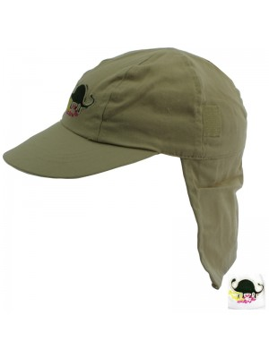 Children's Dinosaur Logo Legionnaires Hat - Assorted Colours
