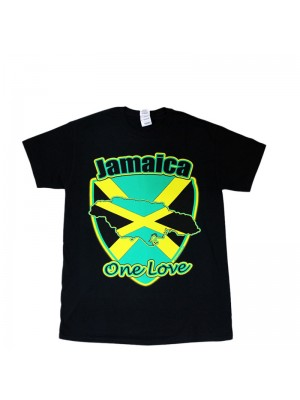 Children's Jamaica One Love Black T-Shirt