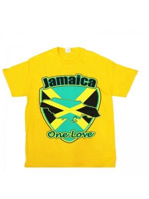Children's Jamaica One Love T-Shirt - Yellow