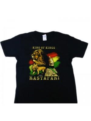 Children's King Of Kings T-Shirt - Black