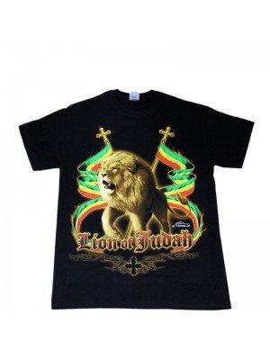 Children's Lion Of Judah Black T-Shirt
