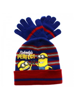 Children's Minions Design Beanie Hats - Assorted Colours