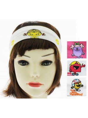 Children's Mr.Men Headbands - Assorted Colours And Designs