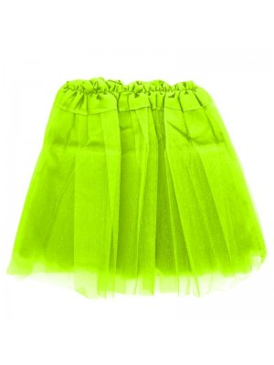 Wholesale Children's Neon Yellow Tutu Skirt